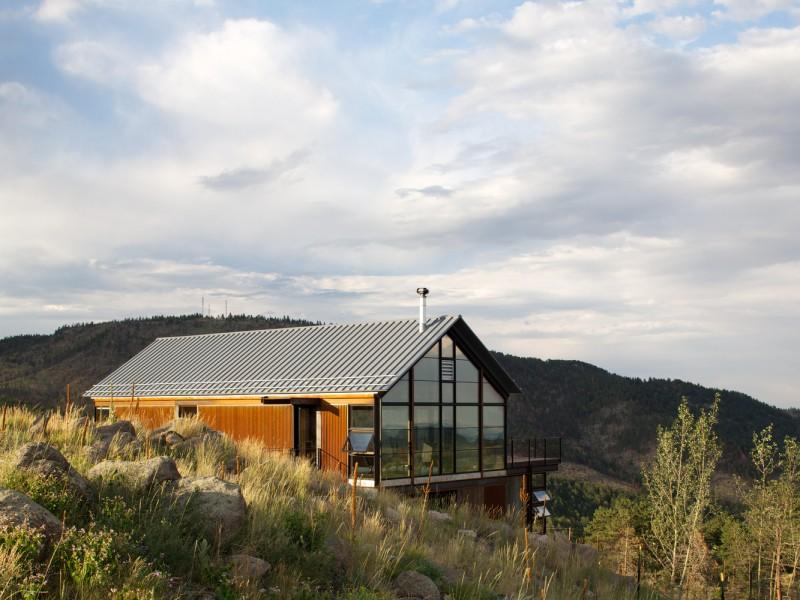 строительство дома на склоне
